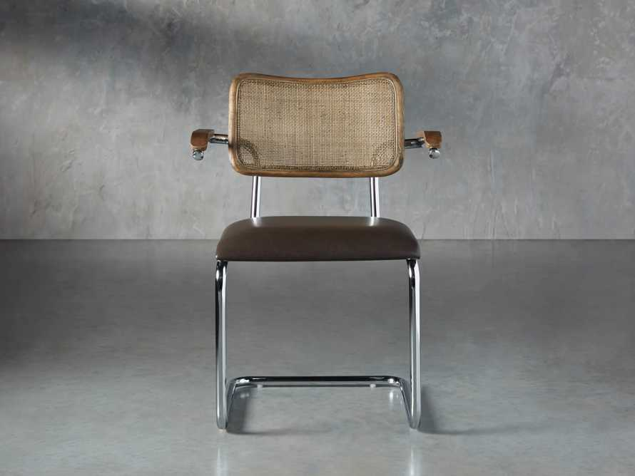 "Wolfgang 23"" Dining Arm Chair, slide 1 of 9"
