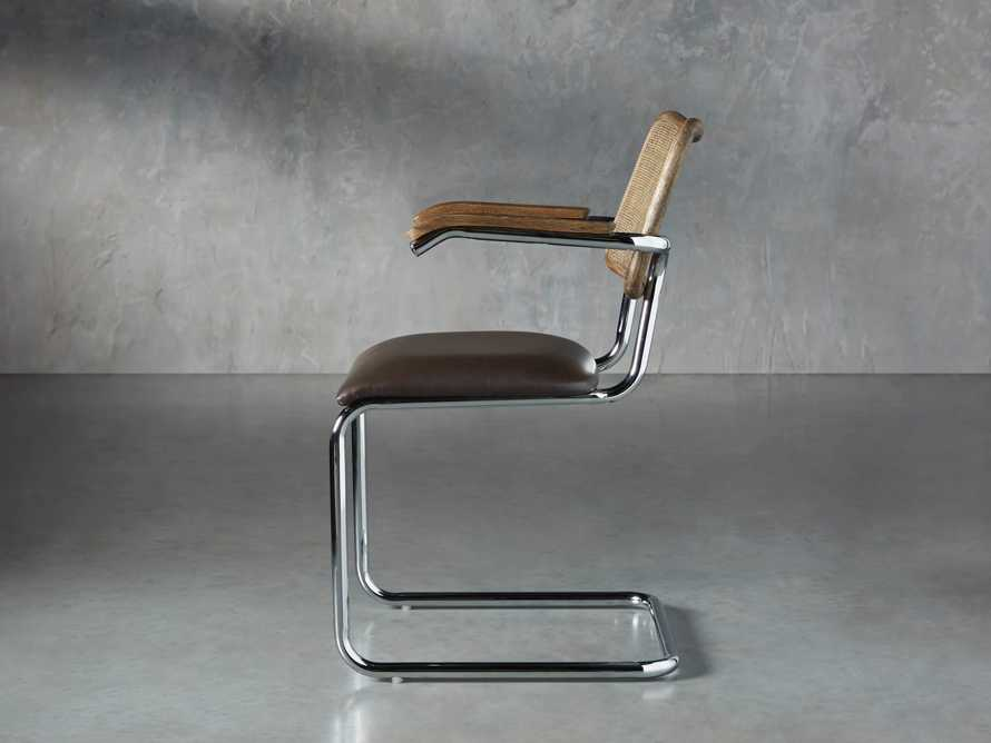 "Wolfgang 23"" Dining Arm Chair, slide 3 of 9"