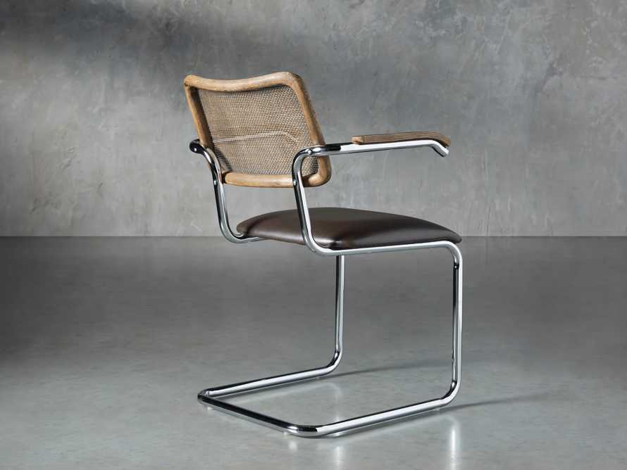 "Wolfgang 23"" Dining Arm Chair, slide 4 of 9"