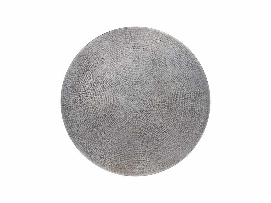 "Zinc Alloy 38"" Round Table Top With Kenya Counter Base, slide 3 of 4"