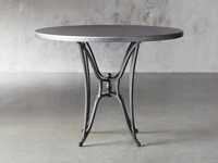 "Zinc Alloy 38"" Round Table Top With Kenya Counter Base"