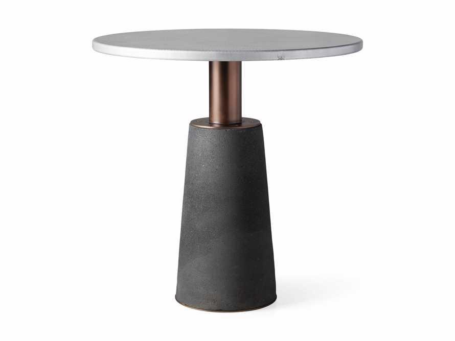 "Kamilah 36"" Zinc Top Counter Table, slide 4 of 4"