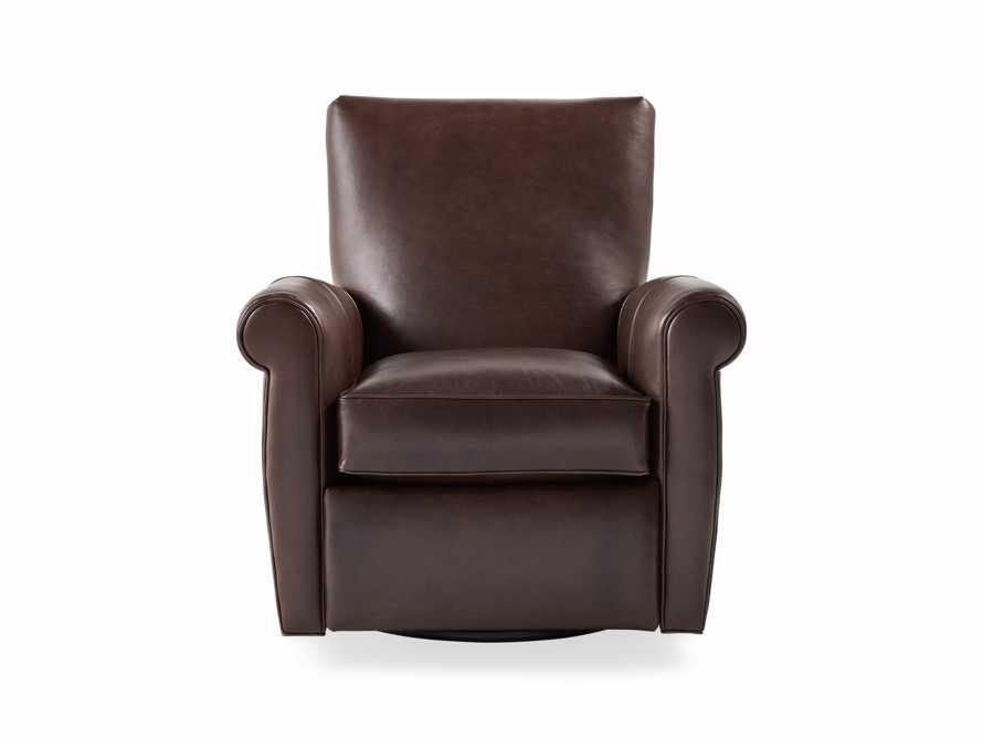 Astonishing Duvall Leather Swivel Recliner Theyellowbook Wood Chair Design Ideas Theyellowbookinfo