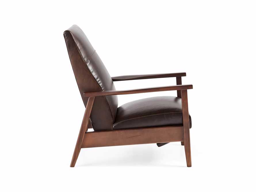 "Wordsmith 30"" Leather Recliner, slide 3 of 6"