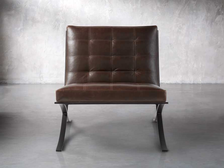 "Moxie 30"" Leather Chair"
