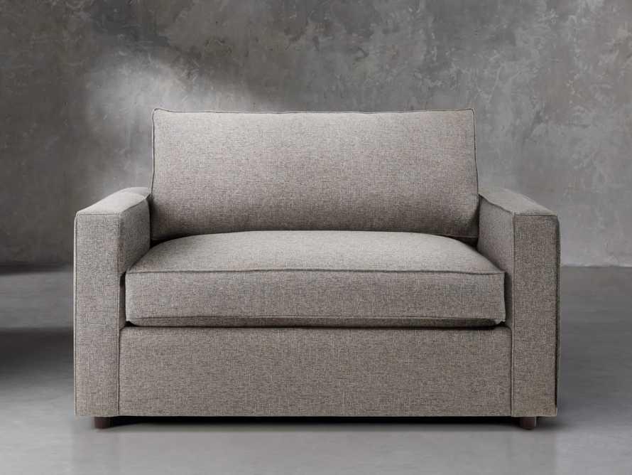 """Filmore 56"""" Upholstered Chair, slide 2 of 7"""