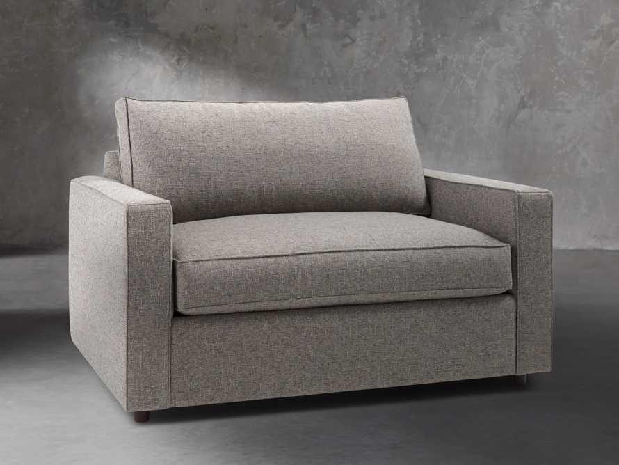 """Filmore 56"""" Upholstered Chair, slide 3 of 7"""