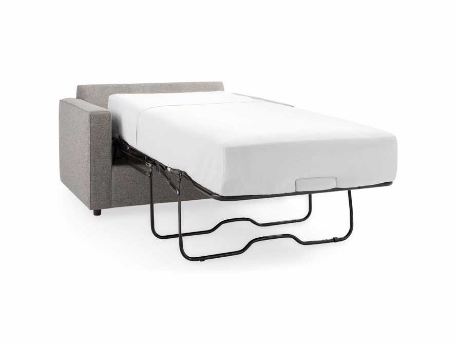 "Filmore 56"" Upholstered Twin Air Sleeper Chair, slide 10 of 10"