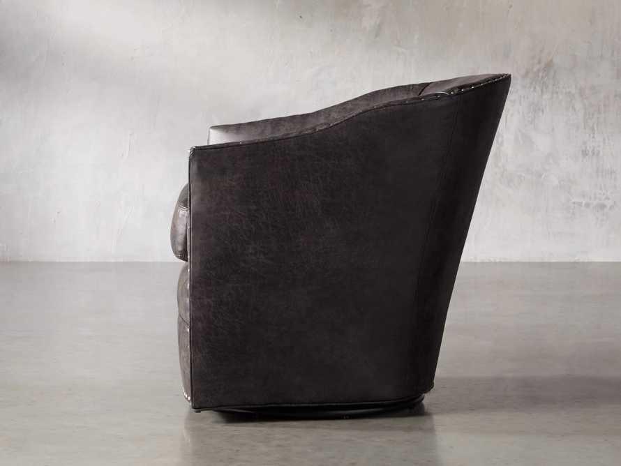 """Giles 28"""" Upholstered Swivel Chair, slide 3 of 11"""