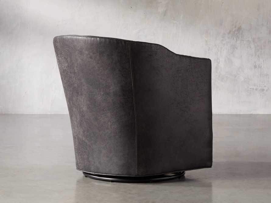 """Giles 28"""" Upholstered Swivel Chair, slide 4 of 11"""