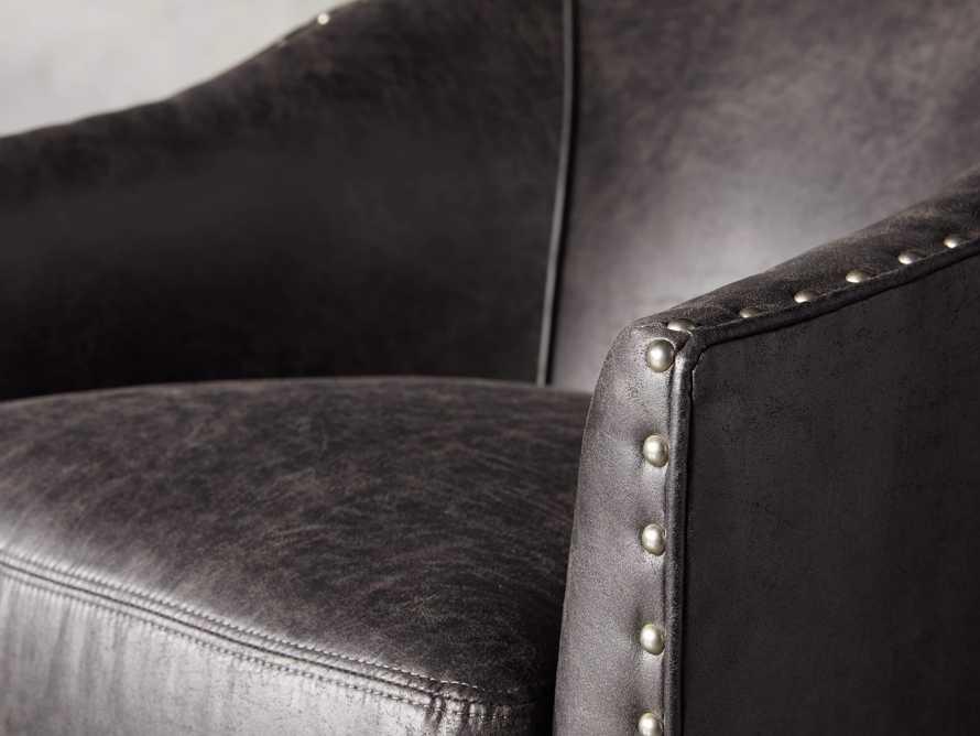 """Giles 28"""" Upholstered Swivel Chair, slide 5 of 11"""