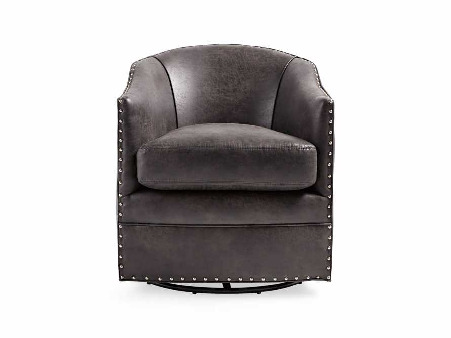 "Giles 28"" Upholstered Swivel Chair"