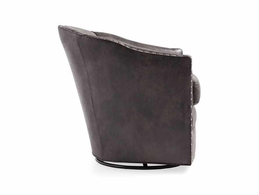 """Giles 28"""" Upholstered Swivel Chair, slide 10 of 11"""