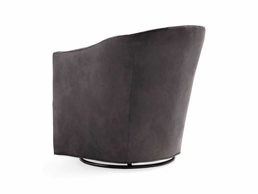 """Giles 28"""" Upholstered Swivel Chair, slide 11 of 11"""