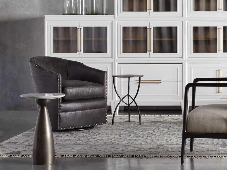 """Giles 28"""" Upholstered Swivel Chair, slide 7 of 11"""