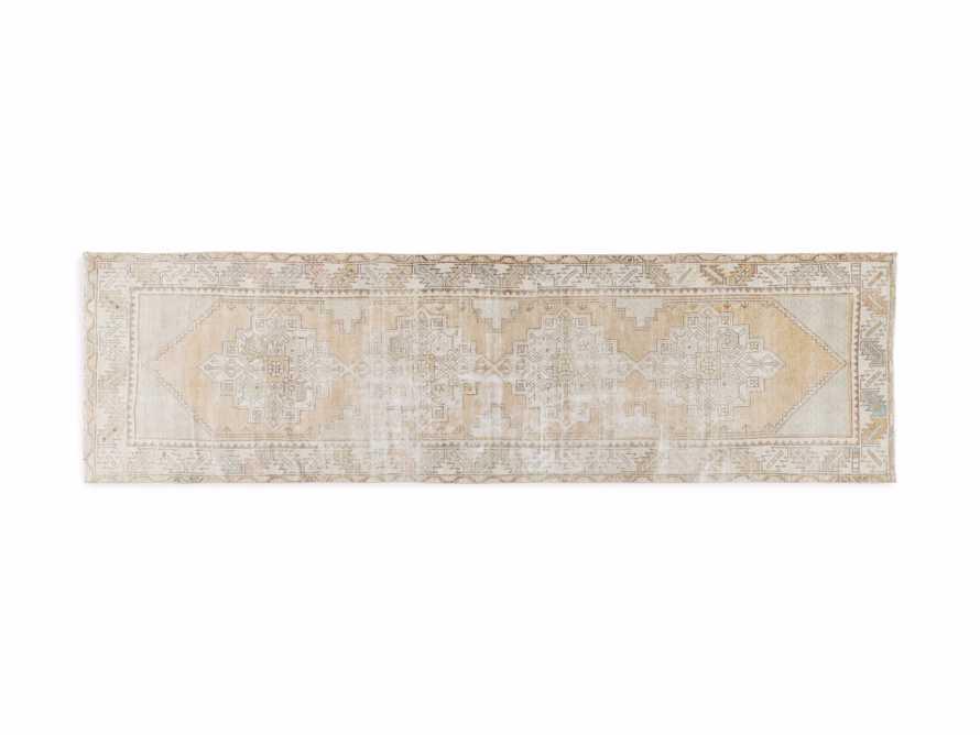 """2' 8"""" X 9' 6"""" Vintage Turkish Anatolian Rug, slide 4 of 4"""