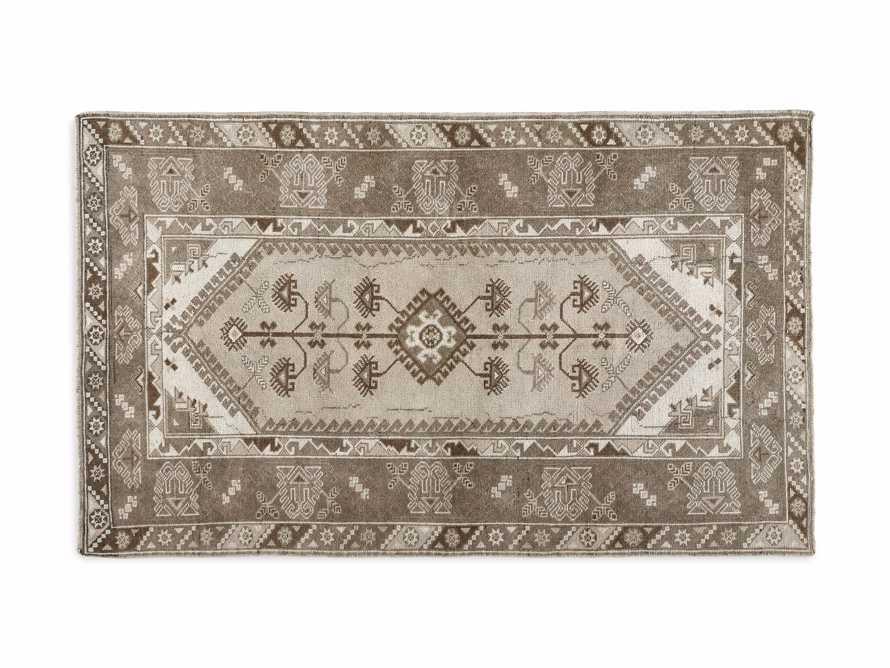 """3'10"""" X 6' 4"""" Vintage Turkish Anatolian Rug, slide 4 of 4"""