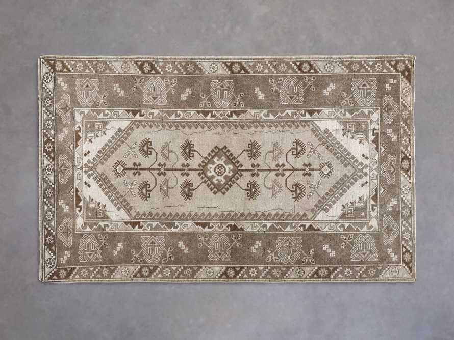 """3'10"""" X 6' 4"""" Vintage Turkish Anatolian Rug, slide 1 of 4"""