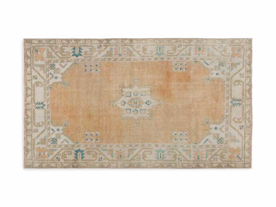 """3' 6"""" X 6' 4"""" Vintage Turkish Anatolian Rug, slide 4 of 4"""
