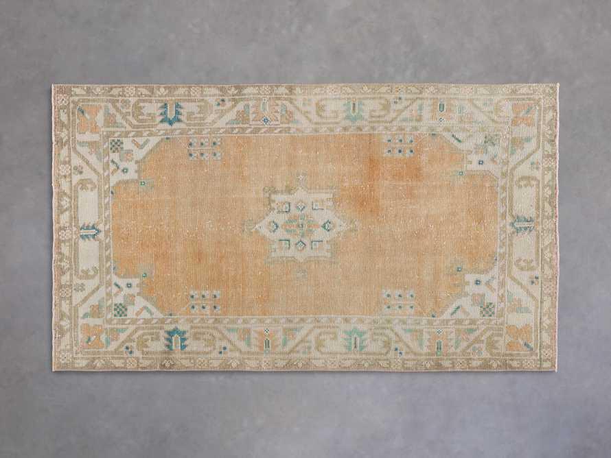 """3' 6"""" X 6' 4"""" Vintage Turkish Anatolian Rug, slide 1 of 4"""