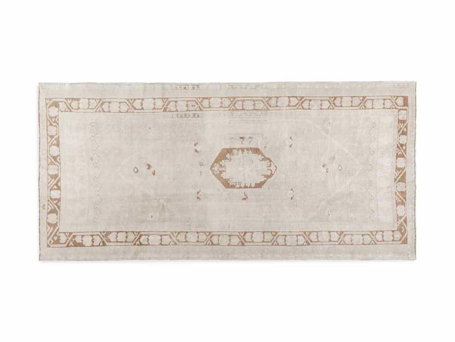 """4' 1"""" X 8' 9"""" Vintage Turkish Anatolian Rug, slide 4 of 4"""