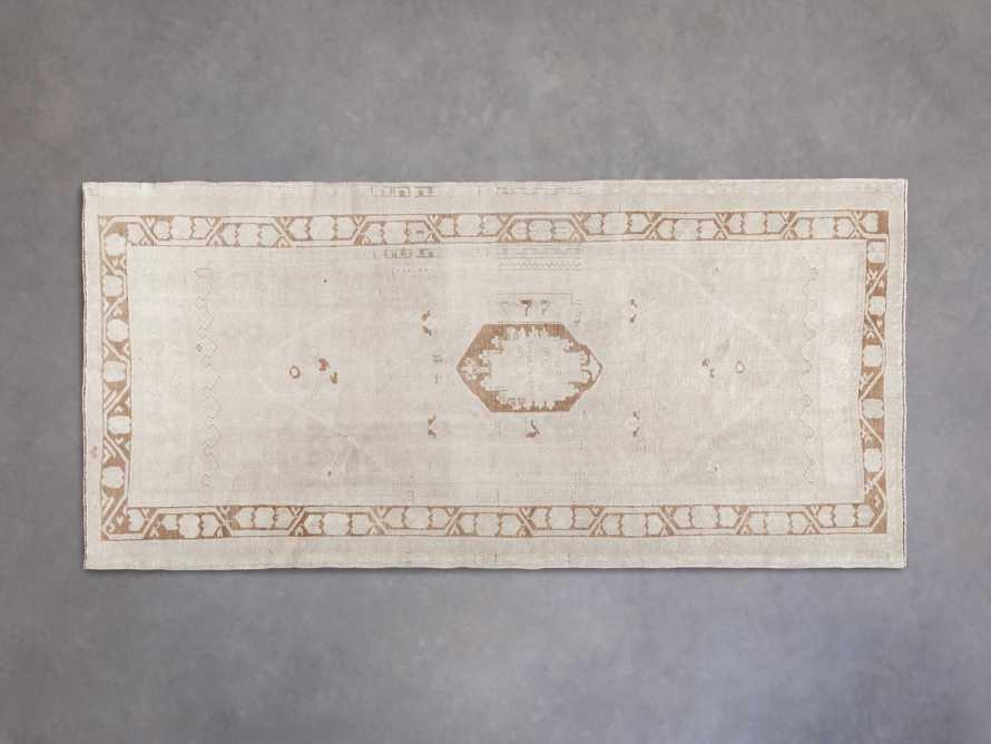 """4' 1"""" X 8' 9"""" Vintage Turkish Anatolian Rug, slide 1 of 4"""