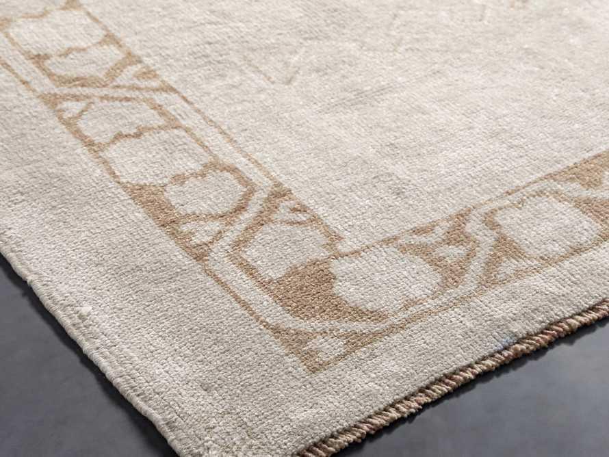 """4' 1"""" X 8' 9"""" Vintage Turkish Anatolian Rug, slide 2 of 4"""