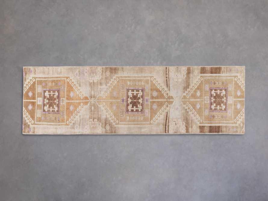 """3' 5"""" X 10'11"""" Vintage Turkish Anatolian Rug, slide 1 of 5"""