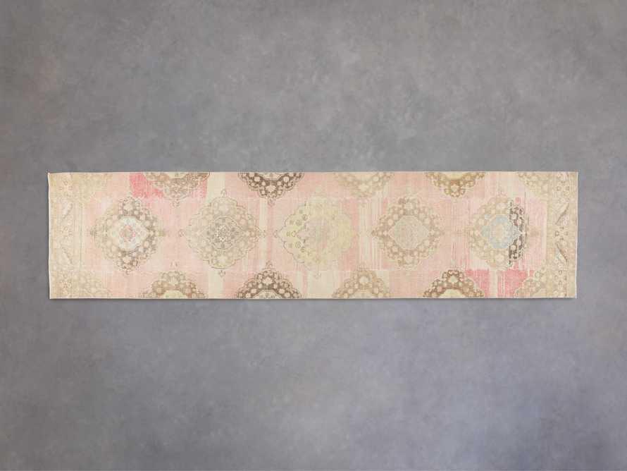 """3' X 12' 3"""" Vintage Turkish Anatolian Rug, slide 1 of 5"""