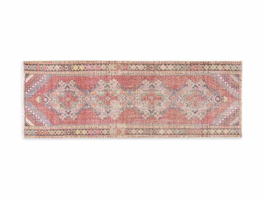 """3' 1"""" X 8'10"""" Vintage Turkish Anatolian Rug, slide 5 of 5"""