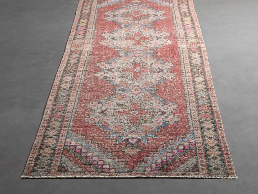 """3' 1"""" X 8'10"""" Vintage Turkish Anatolian Rug, slide 3 of 5"""