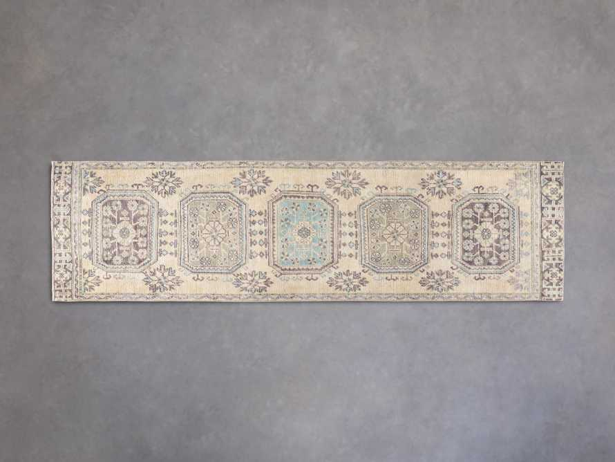 """3' 2"""" X 11' 7"""" Vintage Turkish Anatolian Rug, slide 1 of 5"""