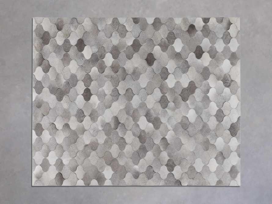6' x 9' Amberly Hide in Grey, slide 2 of 4