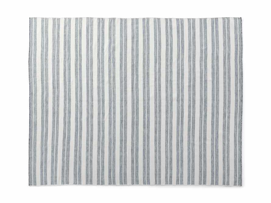 8' x 10' Exline Performance Rug in Blue, slide 3 of 3