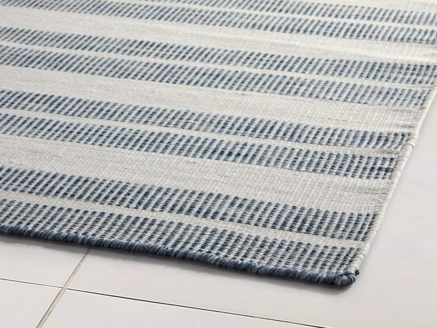 8' x 10' Exline Performance Rug in Blue, slide 2 of 3