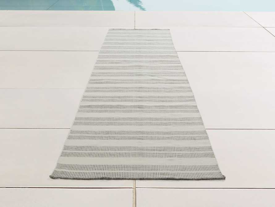"""2'6"""" x 10' Exline Performance Rug in Charcoal, slide 1 of 3"""