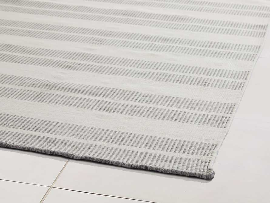 """2'6"""" x 10' Exline Performance Rug in Charcoal, slide 2 of 3"""