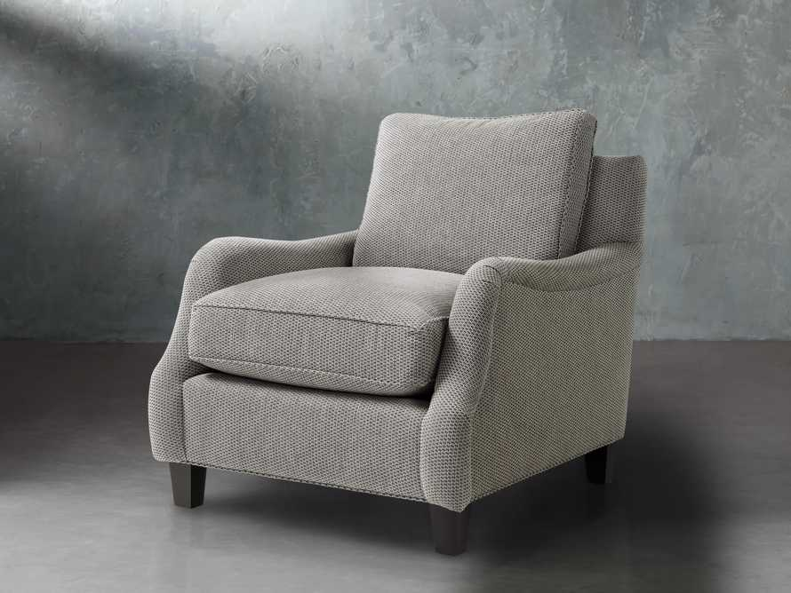 "Paxton Petite 32"" Upholstered Chair, slide 3 of 6"