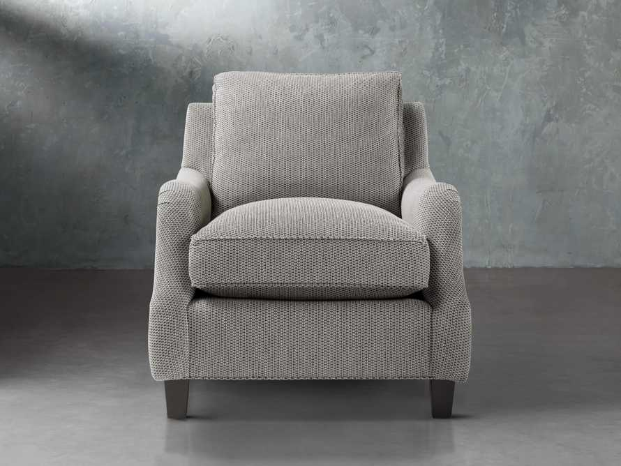 "Paxton Petite 32"" Upholstered Chair, slide 2 of 6"