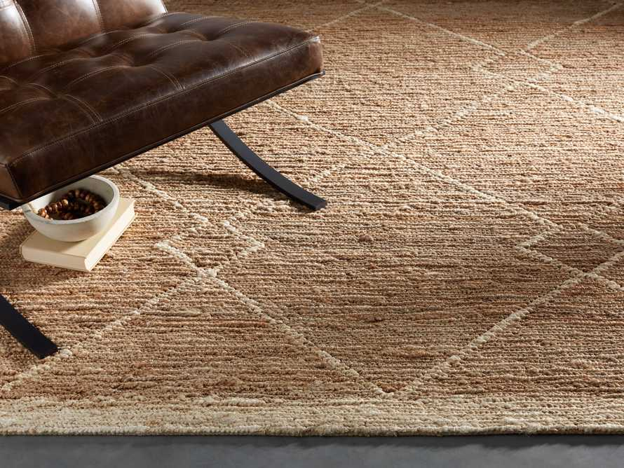 Dalton Handwoven Rug in Natural 6x9 Product Image