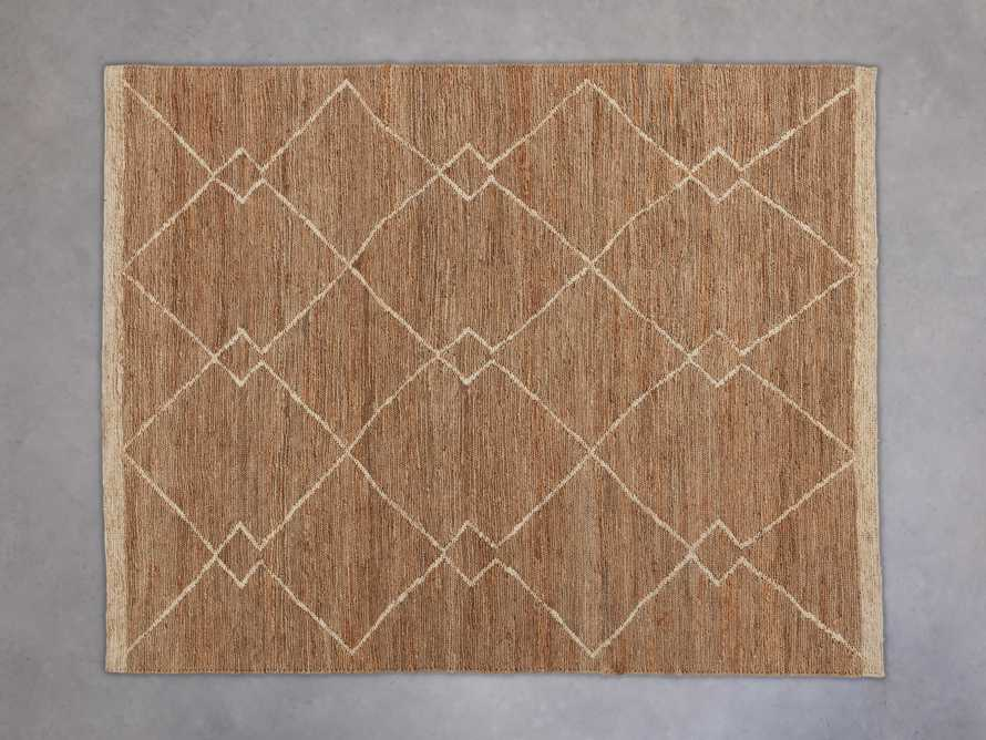 Dalton Handwoven Rug in Natural 8x10, slide 2 of 9