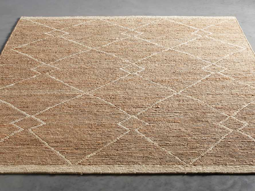 Dalton Handwoven Rug in Natural 8x10, slide 3 of 9