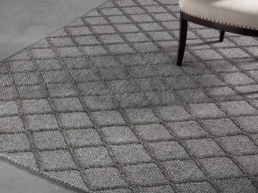 Canyon 10x14 Handwoven Rug in Charcoal Product Image