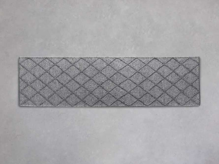 Canyon Handwoven Runner Rug in Charcoal, slide 1 of 1