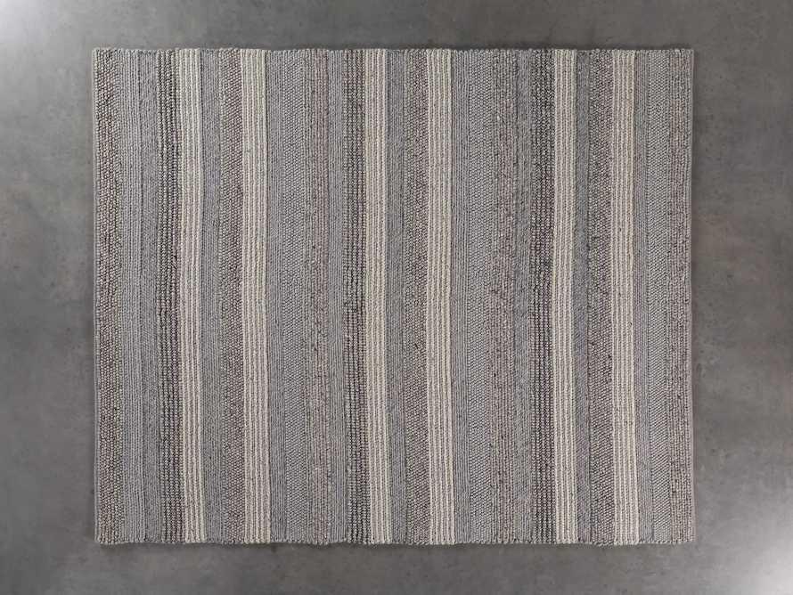 Landon 10x14 Grey Handwoven Rug, slide 2 of 4