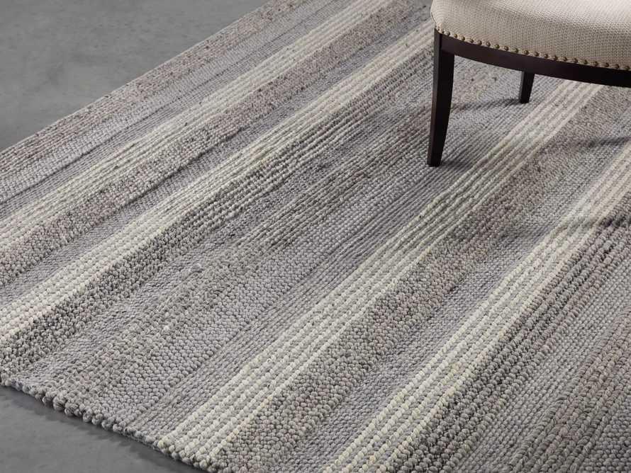 Landon 6x9 Grey Handwoven Rug, slide 1 of 3
