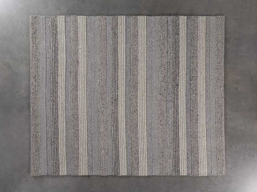 Landon 6x9 Grey Handwoven Rug, slide 2 of 3