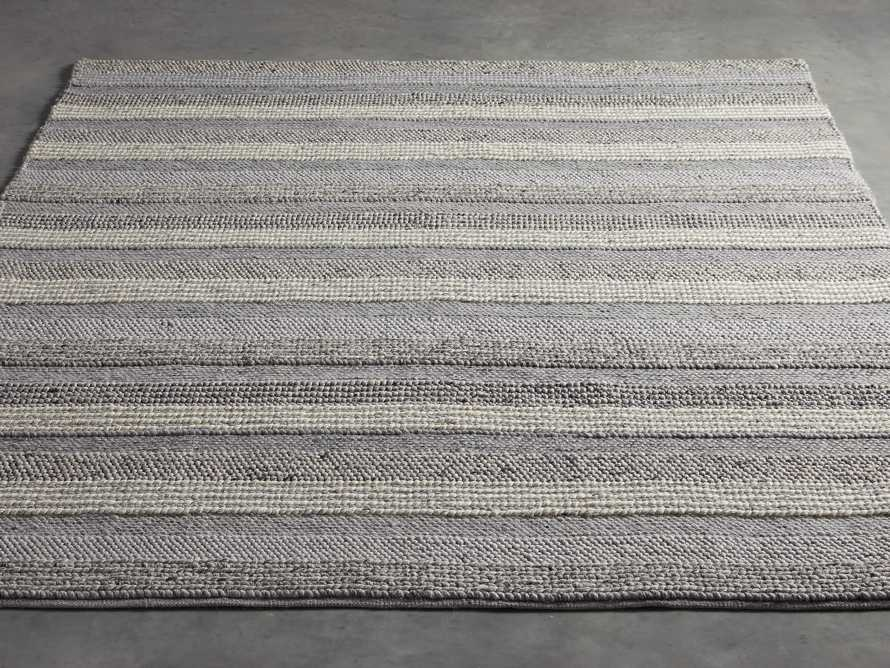 Landon 6x9 Grey Handwoven Rug, slide 3 of 3
