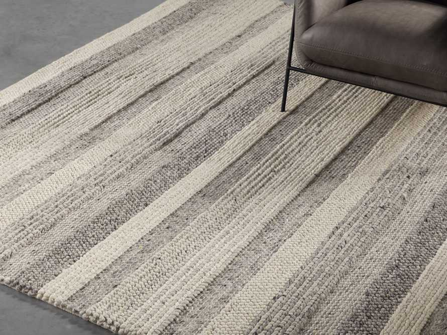Landon 9x12 Ivory/Silver Handwoven Rug Product Image