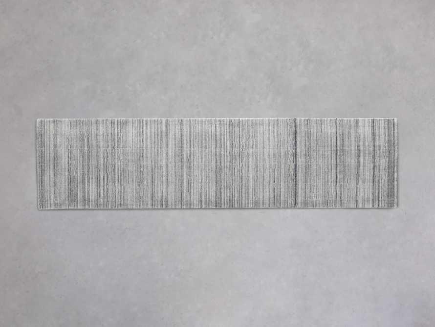 Lassen Handwoven Runner Rug in Charcoal, slide 1 of 1